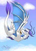 The clouds guardian by Nordeva