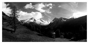 alps panorama by sooperman