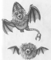 Swoobat and Woobat by Pickledsuicune