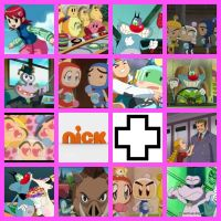 NickPlus Collage/Wallpaper II by Tommypezmaster