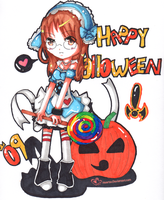 Happy halloween 09 by Heartsu