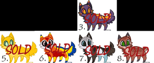 Kitty adoptables. Closed. by Melody335