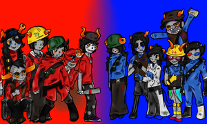Team Homestuck by An0therRand0mPers0n5