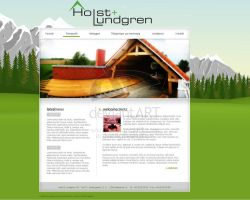 Client: Holst og Lundgren by webgraphix