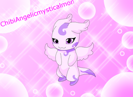 ChibiAngelicmysticalmon by HeroHeart001
