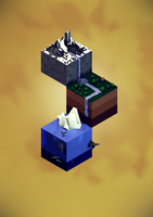 Isometric Landscape by Box-of-Toys