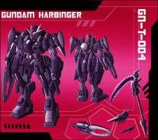 Commission: Harbinger Gundam by zeiram0034