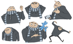 Despicable Me - Gru by iPhysik