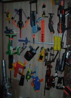 Wall O Nerf by Fragraham