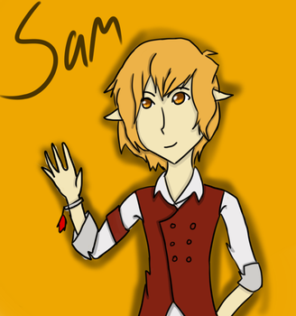 Art Trade Sam by Otakufreak101