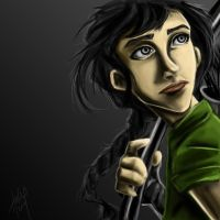 Katniss Everdeen by blindbandit5