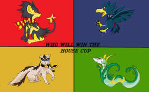 Battle for the House Cup by mctori