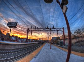 Beauty and Ugliness at the Station by The-Nightshift