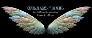 Carnival Glass Fairy Wings - Fractal by mkbrouse