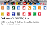 Dock Icons  - TILE (METRO Style) by mh-rockt