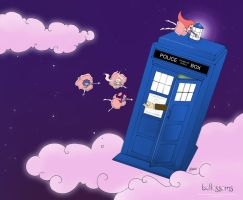 Doctor Who 50th Anniversary Companions: Bellossoms by SimplyErika