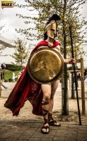 King Leonidas - 300 by Paper-Cube