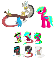 Discord x Moon ..:Free adopts:.. [CLOSED] by Starleay120