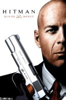 Bruce Willis as Hitman by SAMURAi-GR