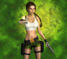Down the barrel by tombraider4ever