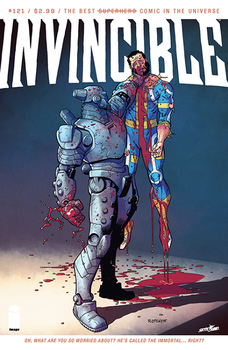 INVINCIBLE 121 cover by RyanOttley