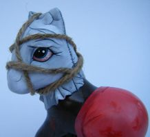 MLP Chainsaw guy custom by eponyart
