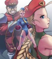 SF Tribute, Alpha Cammy by hybridmink