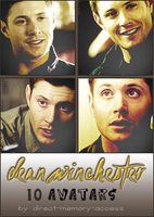 Dean Winchester. 10 avatars by Direct-Memory-Access