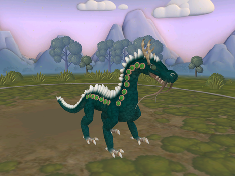 Spore Almerald dragon (from dragon cave) by Marmotte5280