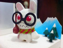 Rabbit X'mas by PaperBot