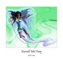 Emerald Mist Fairy by montalvo-mike