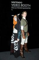 Link and Midna Cosplay by sophielights