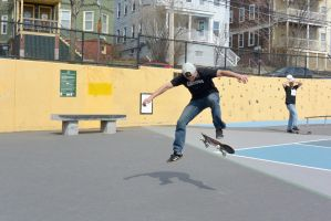 The Skateboarder Action Shot 16 by Miss-Tbones