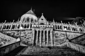 Fisherman's Bastion HDR 01 by Creative--Dragon