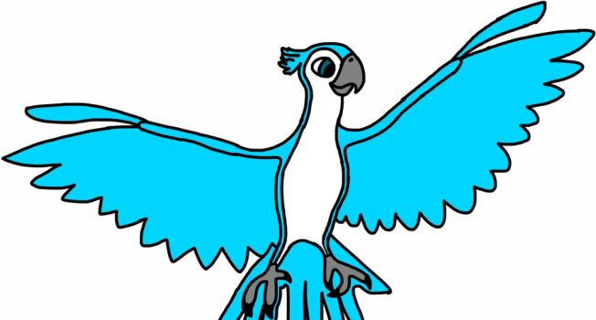 Turquoise the spix macaw by Bird-Lover25