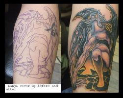 Demon coverup by lilmoongodess