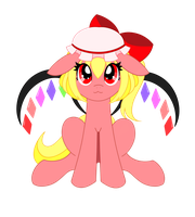 MLP - Flandre Scarlet by HungrySohma16