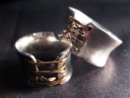 Corset Ring by dravensinferno