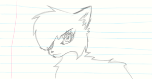 Cat Sketch by LordMuffinX3