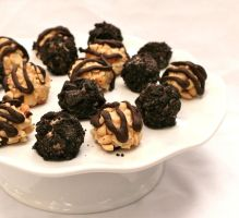 Peanut Butter Pie Truffles by LZakaria