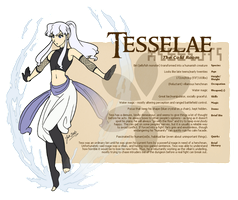 Character Guide - Tesselae by foxlee