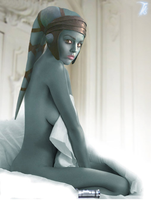 Good Morning Aayla Secura by Theo-Kyp-Serenno