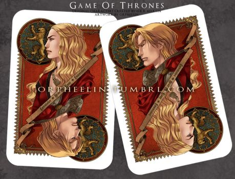 Lannisters Card by Orpheelin