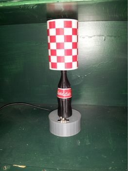 Nuka Cola Lamp by thebluecanary