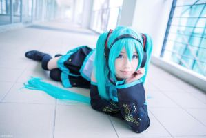 Hatsune Miku - Default Version by wisely84