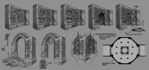 Catacombs Concept Art01 by neuromancer2