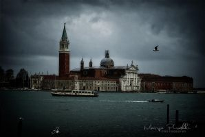 Venice colored with heavy sky by Piroshki-Photography