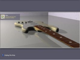 Squier Strat Logon by hugodaddy