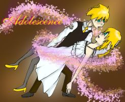 Adolescence - Rin and Len by mandel1