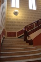 Stairs stock 02 by LutherHarkon